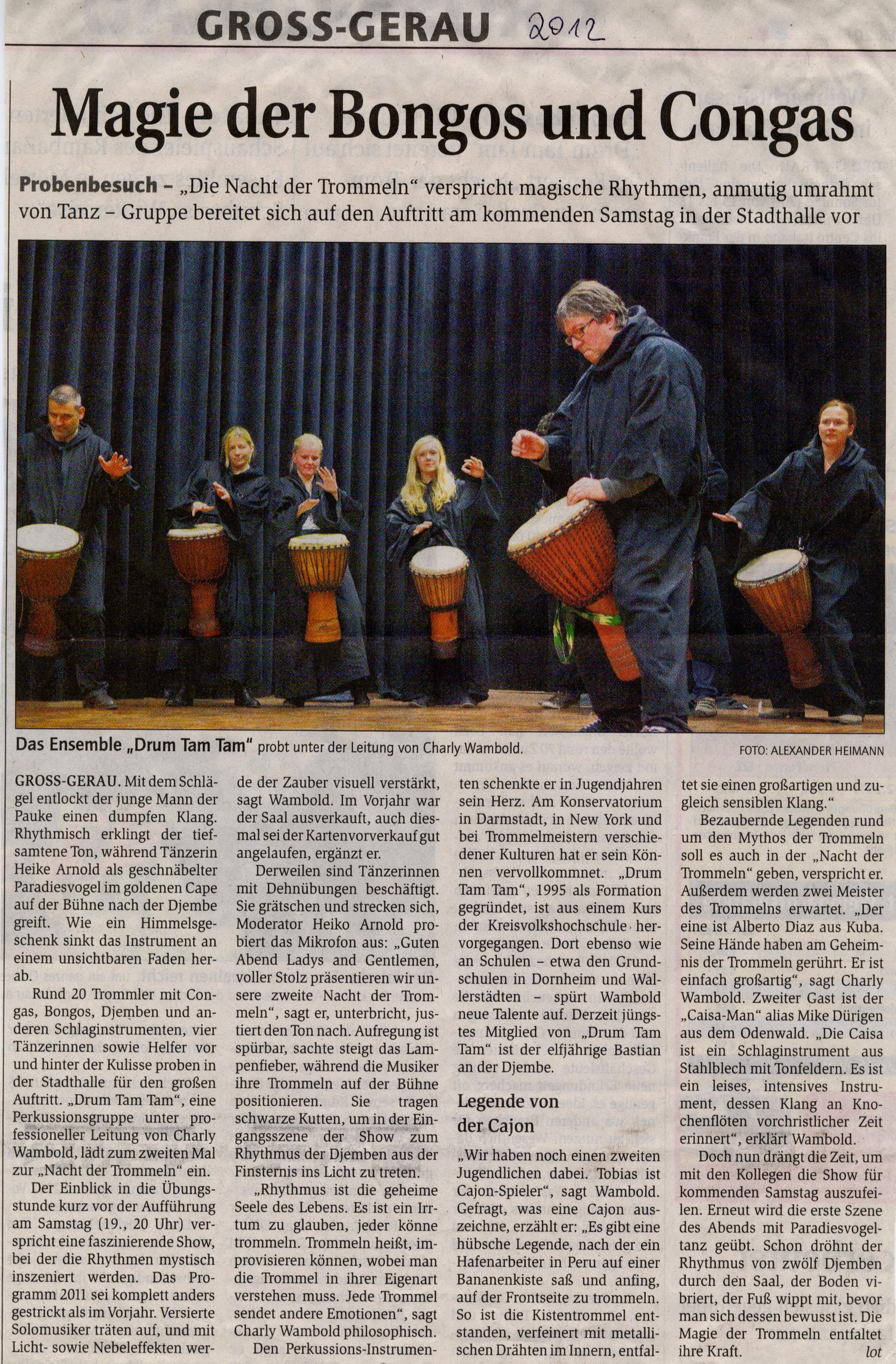 Konzert 2012_Gross-Gerauer Echo