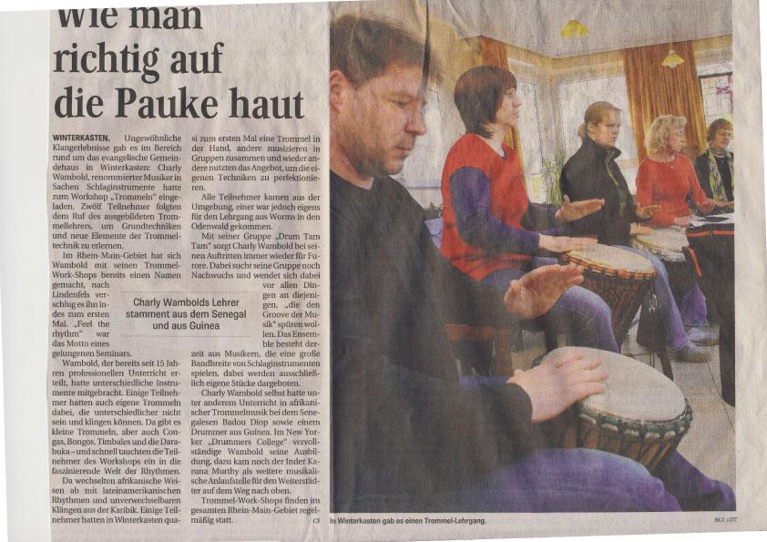 Workshop in Winterkasten_Bergsträßer Anzeiger 2010
